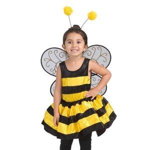 Toddler bumble bee costume wings antennae
